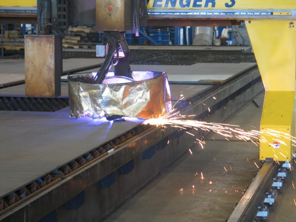 STEP NC plasma cutting